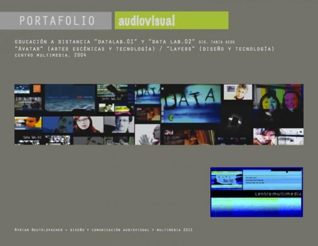 Audiovisual. DataLab. Educación a distancia
