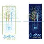 Logotipo. Québec Forum 2007