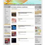 Sitio web Centro Nacional de las Artes