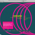 Diseño web. IV Festival de artes electrónicas y video Transitio_MX (2011)